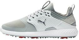 Puma Ignite Pwradapt Caged Golf Shoes 192223-01 Gray/Silver/