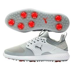Puma Ignite PWRAdapt  Caged Mens Golf Shoes 2020 - Gray Viol