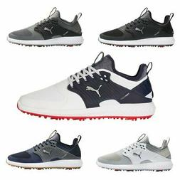 Puma IGNITE PWRADAPT Caged Wide Golf Shoes  Tornado Cleats