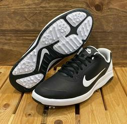 Nike Infinity G Golf Shoes Wide - Black White - Men's Wide S