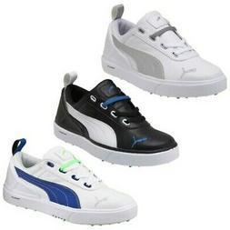 Puma Junior Monolite Mini Spikeless Golf Shoes New Waterproo