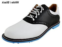 Ashworth Kingston Golf Shoes 2014 White/Black/Azure Medium 1