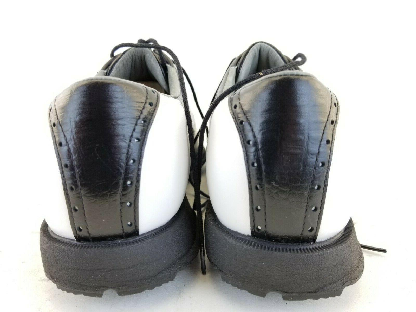 Etonic Mens 400 White Golf Shoes Cleats Size