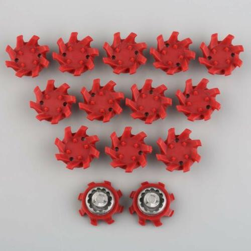14pcs A+ Golf Shoes Spikes Fast Twist TRI-LOK Replacement Fo