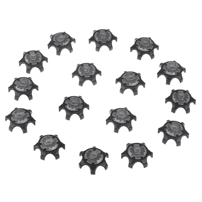 16pcs black easy replacement spikes ultra thin