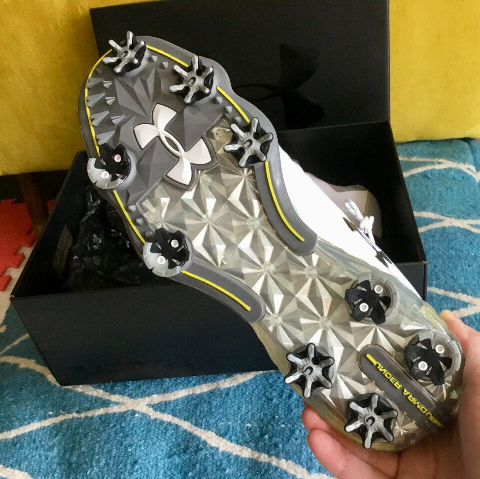 $170 NEW UA Match Golf Shoes SPIKES