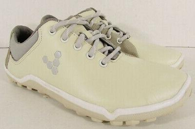 $170 Vivobarefoot Womens Hybrid Golf Shoes, White, 35 EU / U