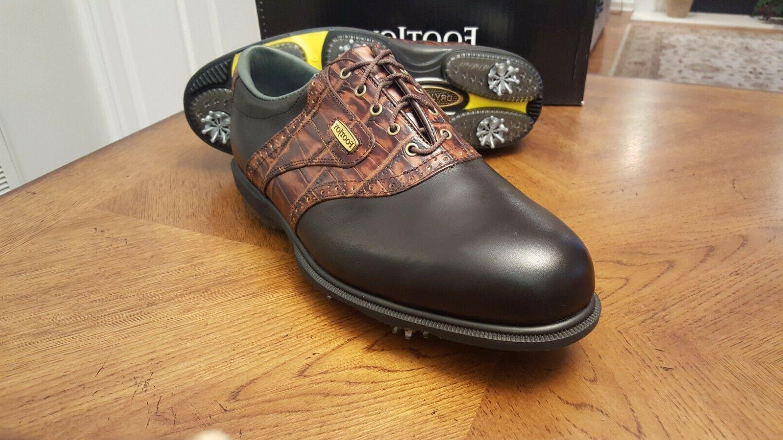 2014 Golf Shoes Blk/Brn RET Beautiful