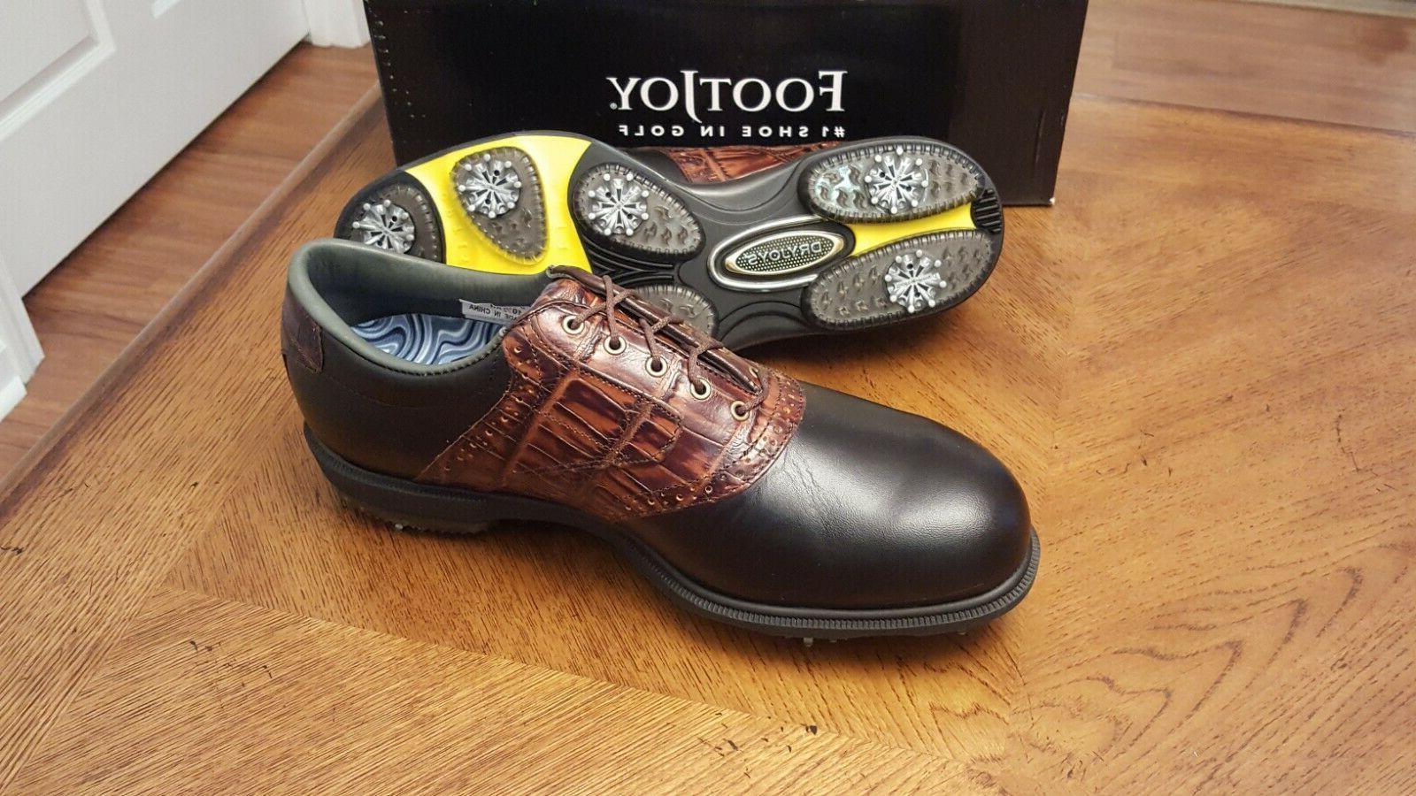 2014 Golf Shoes 53729 Blk/Brn Beautiful