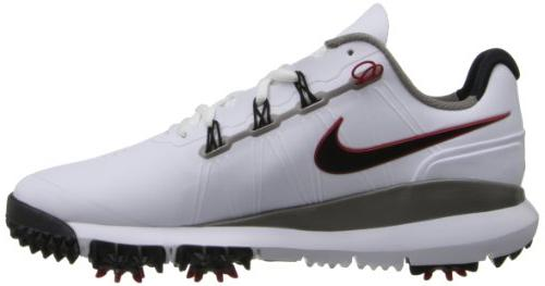 New 2014 Tiger '14 Shoes White/Pewter/Red - $220