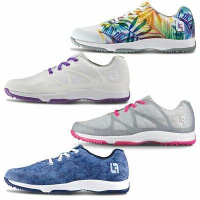 2017 closeout women leisure spikeless golf shoes
