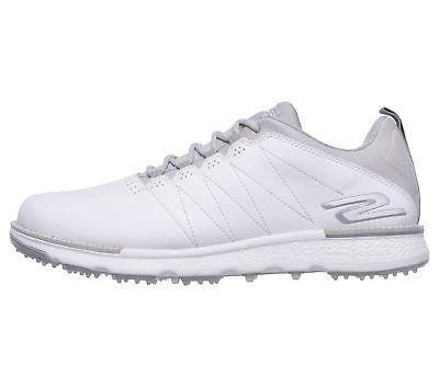 Skechers 2018 Go Golf Elite V.3 Golf Shoes 54523 - White/Gra