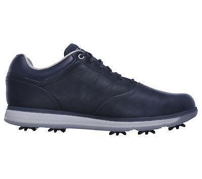 Skechers 2018 Golf Pro V.3 LX Mens Golf Shoes 54511 Navy - Size