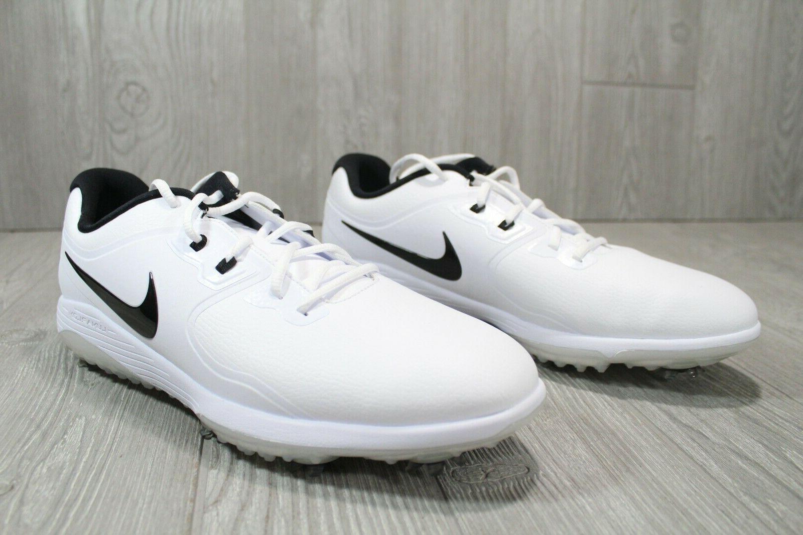 52 Nike Men's AQ2197-101 White Black 8 -