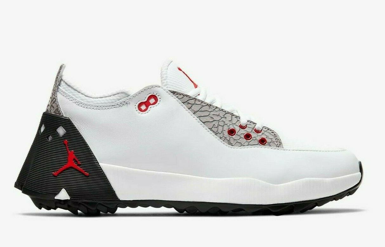 Jordan Mens Golf White Red CT7812-100