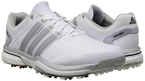 adidas Men's Boost Metallic/Running White, 10 M US