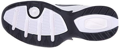 Nike NIKE MONARCH -8; Silver-Midnight Navy