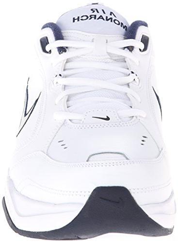 Nike MONARCH -8; Silver-Midnight Navy