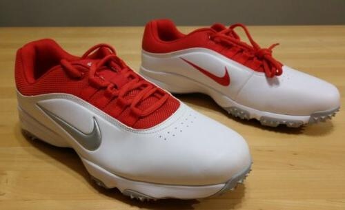 Nike Golf White Red Size 11.5W