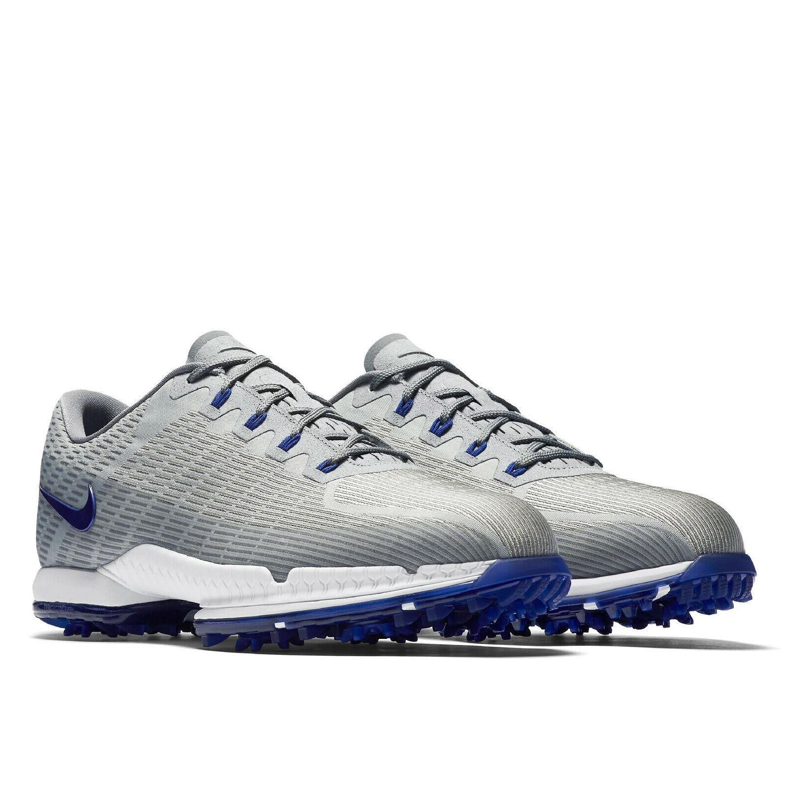 Nike Air Zoom Attack Mens Golf Shoes Cleats - Gray Blue - Pick