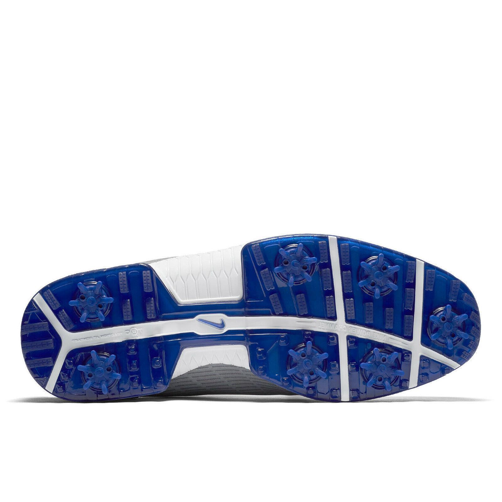 Nike Mens Golf Cleats Blue -