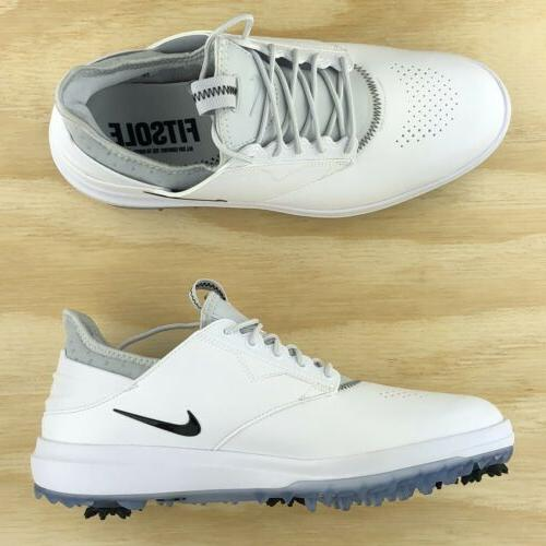 Nike Golf White Silver Black 923965-100 Size