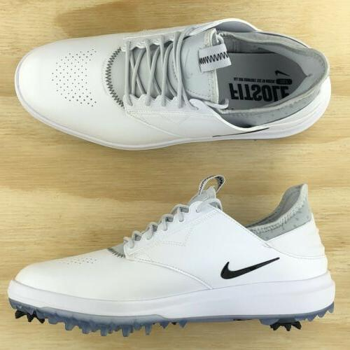 Nike Air Golf Shoes Silver 923965-100 Multi Size