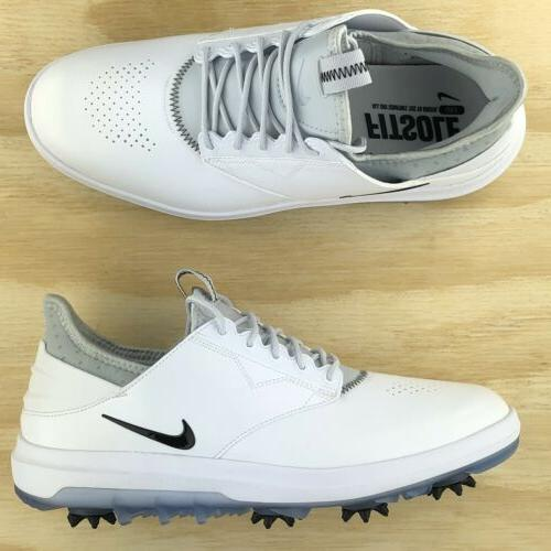 Nike Golf Shoes Silver Black Multi Size