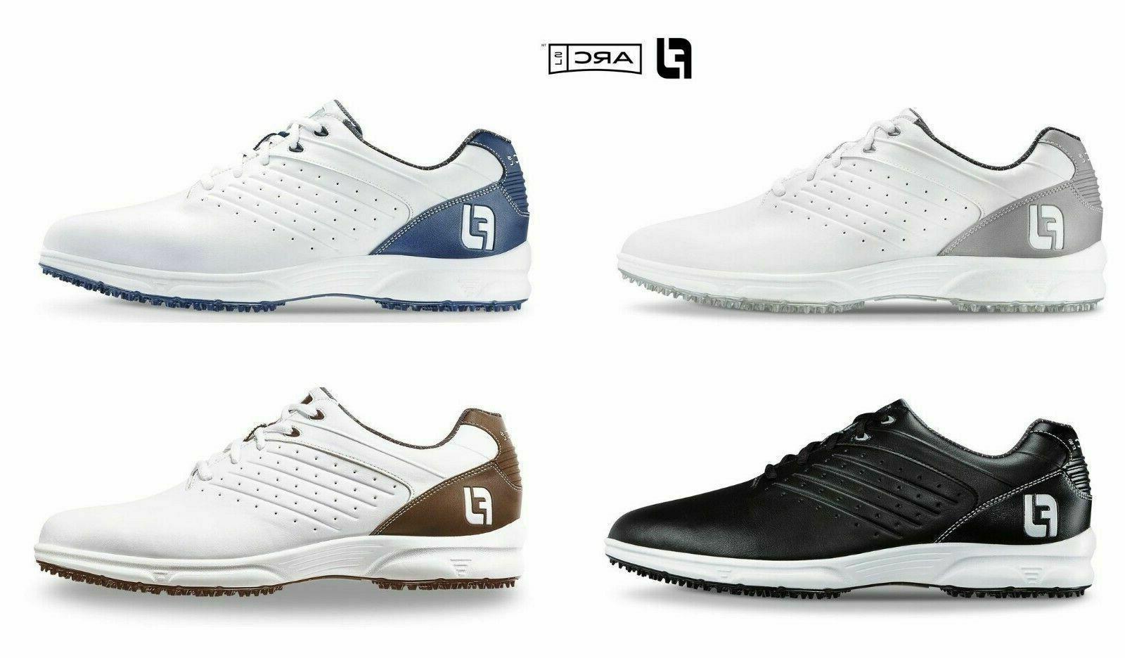 arc sl spikeless golf shoes nib choose