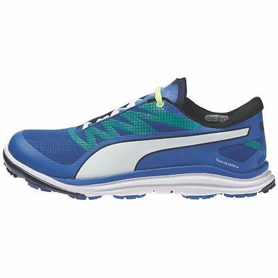 Puma Bio Drive Shoe Strong Blue Peacoat Fluro Yellow NEW 667