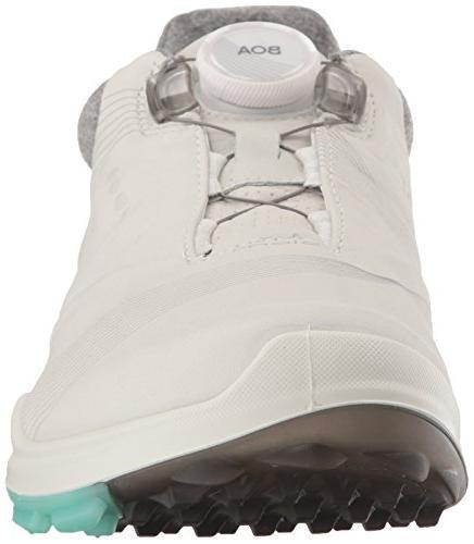 ECCO Hybrid 3 BOA Shoe, White/Emerald, 38