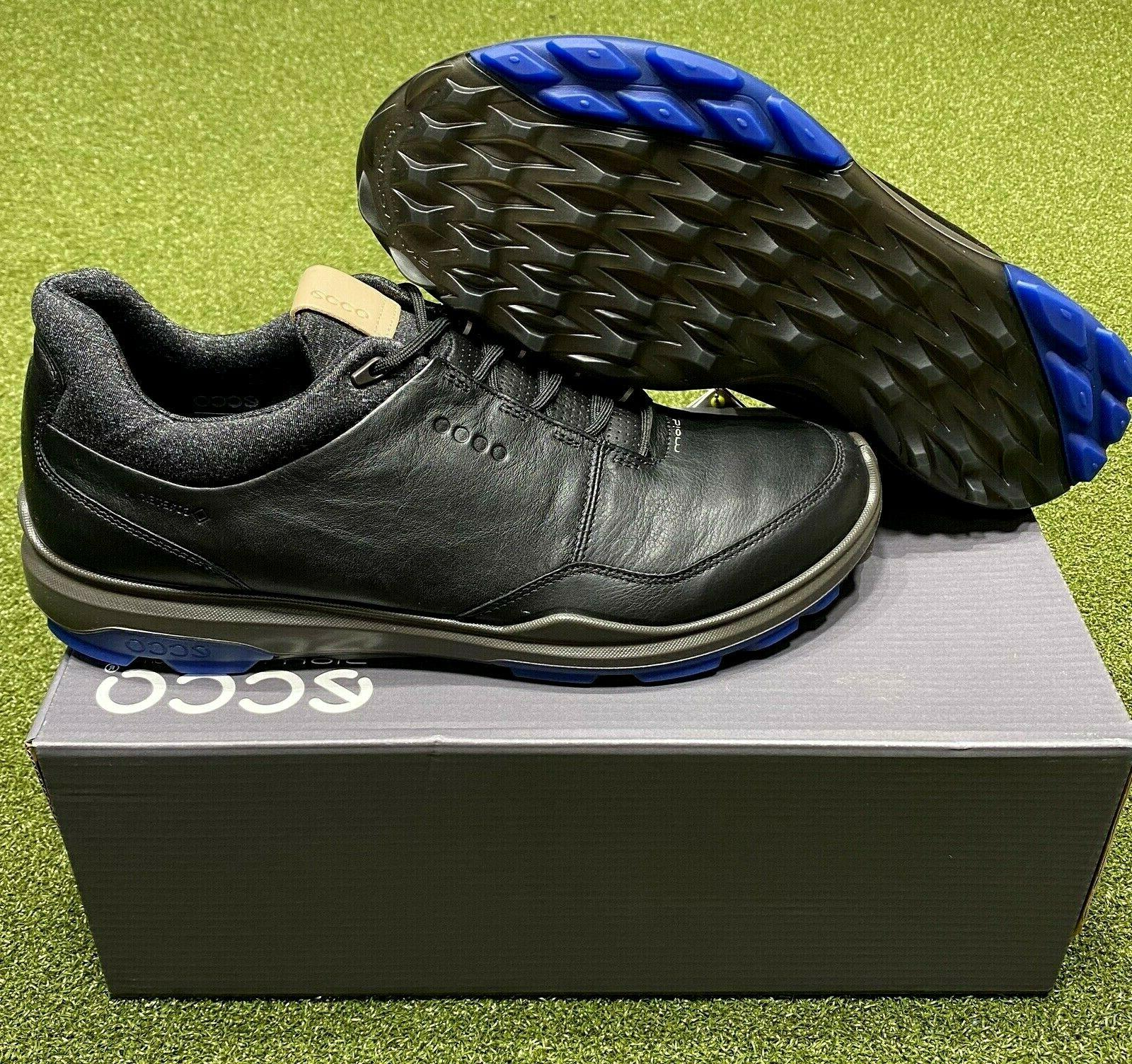 ECCO Biom Hybrid 3 Spikeless Men's Golf Shoes Size 44 Black/