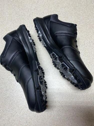 Nike Black/Silver 4 Golf Size