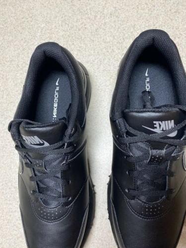 Nike Black/Silver Golf Shoes Size