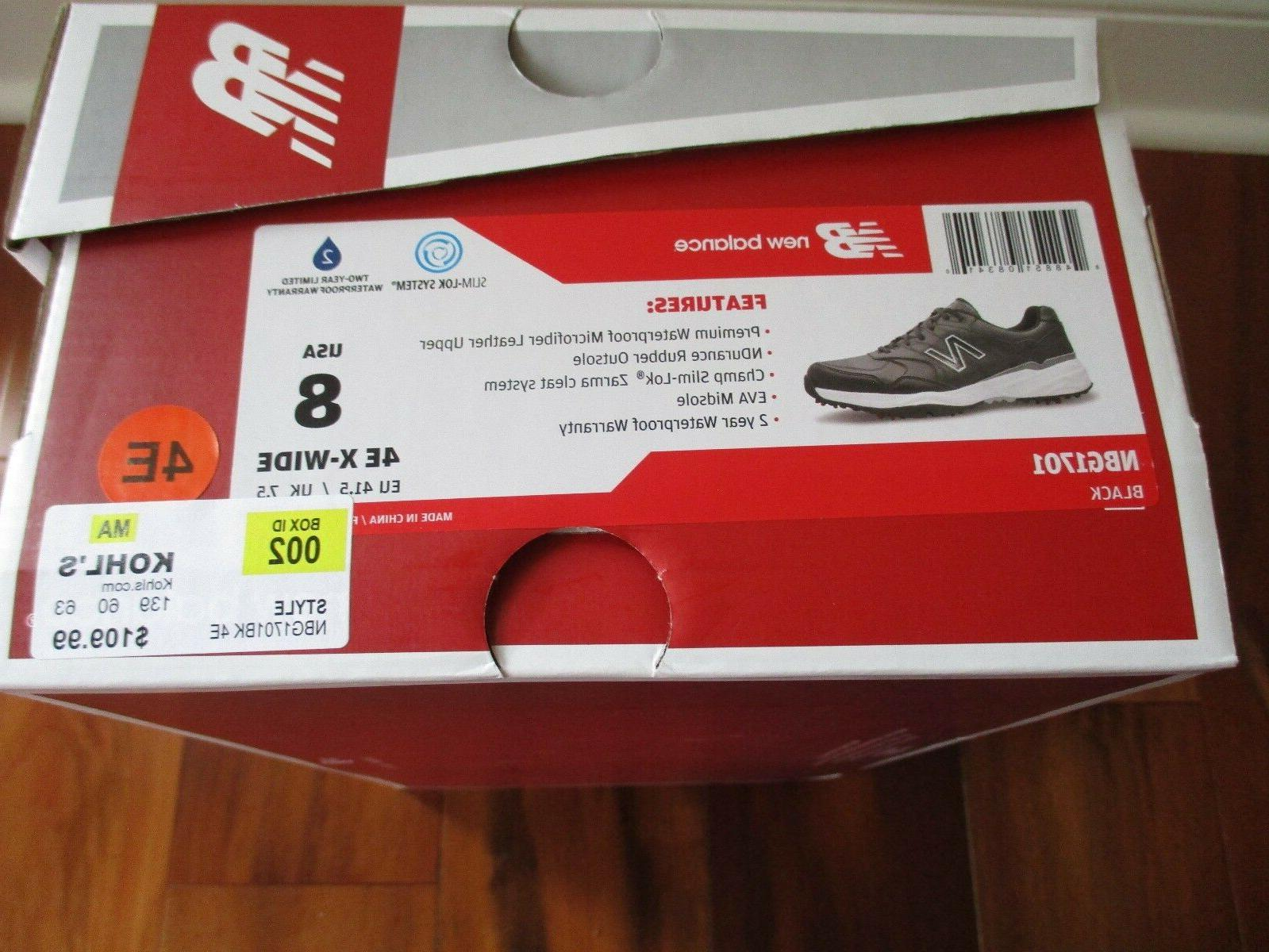 BNIB New Men's Size 4E,