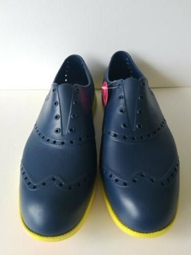 Biion Footwear Size Navy Blue Yellow