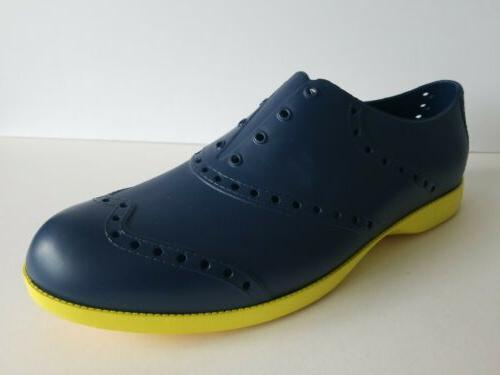 Biion Brights Golf Shoes Footwear Blue Yellow
