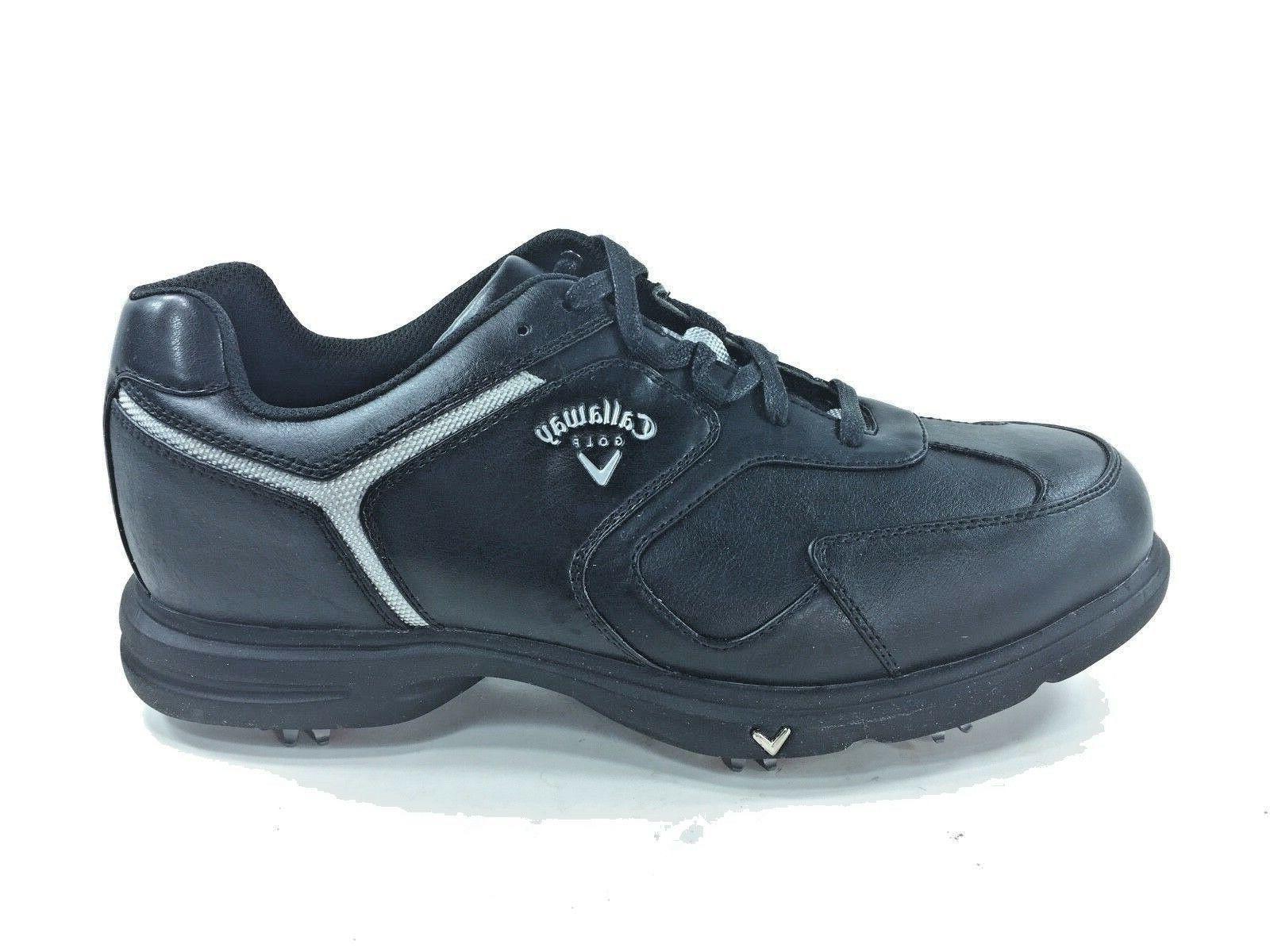 Callaway™ Golf ~ GOLF Shoes ~ Rare Design ~ Black ~ M221-2