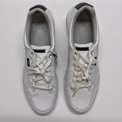Spikeless Golf - White Leather