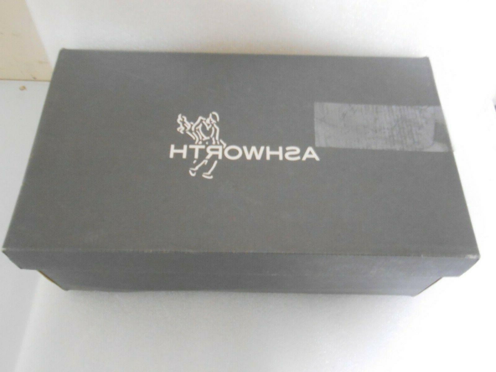 Ashworth Spikeless Golf Black Sz Style New