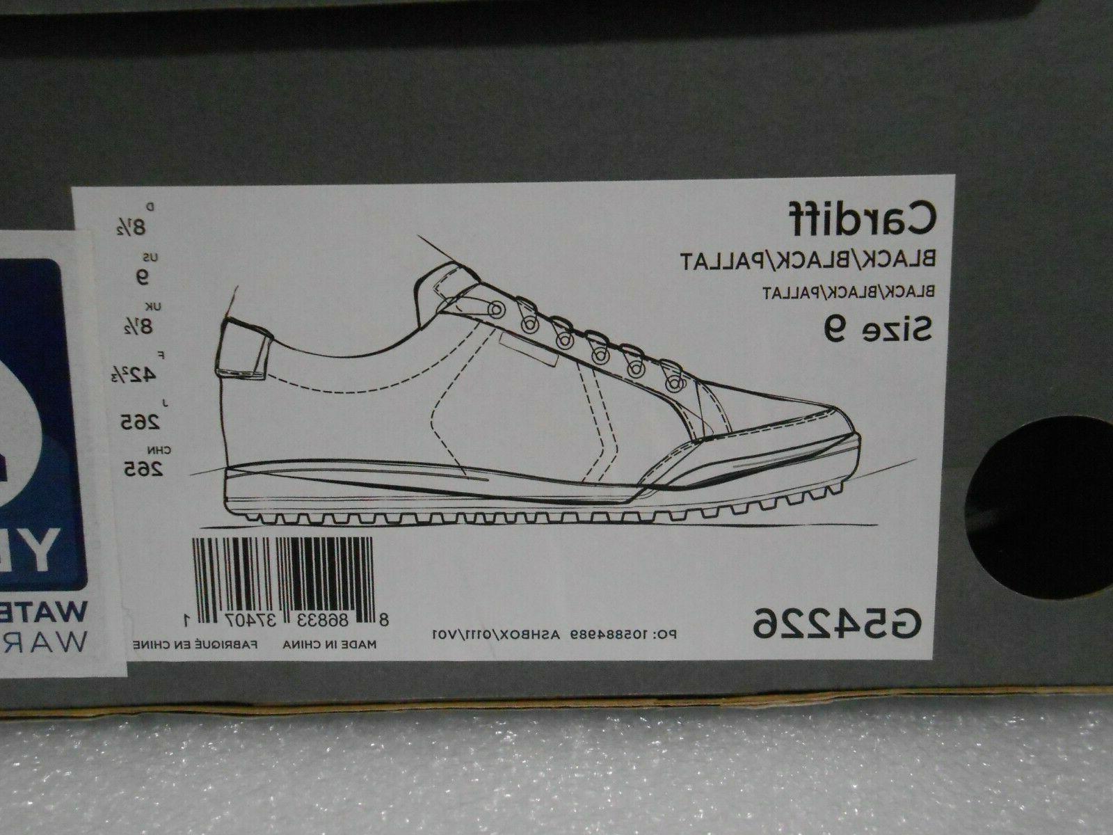 Ashworth Spikeless Shoes Black Sz Style New