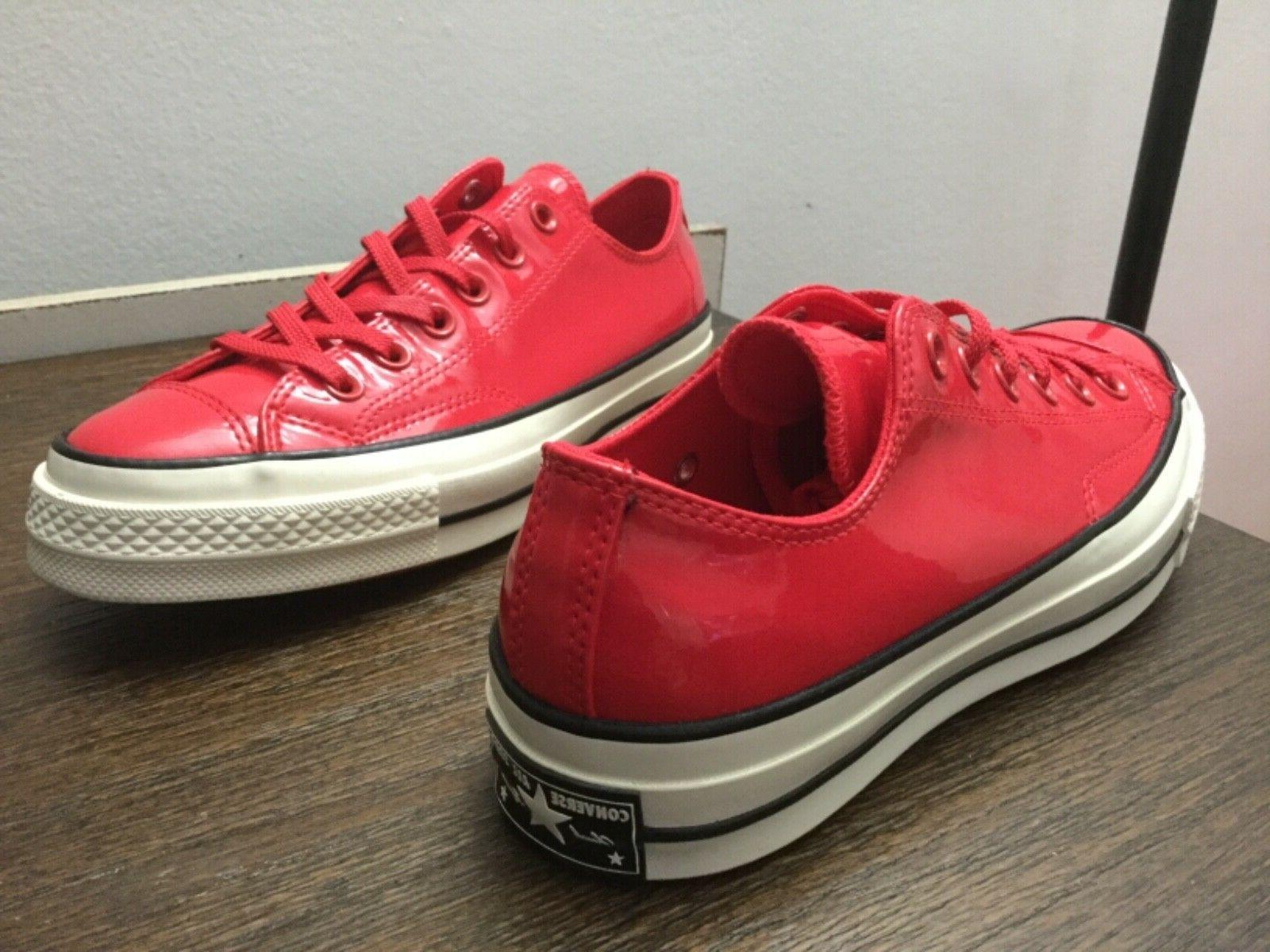 Converse All Star Patent Leather Cherry 6-8.5