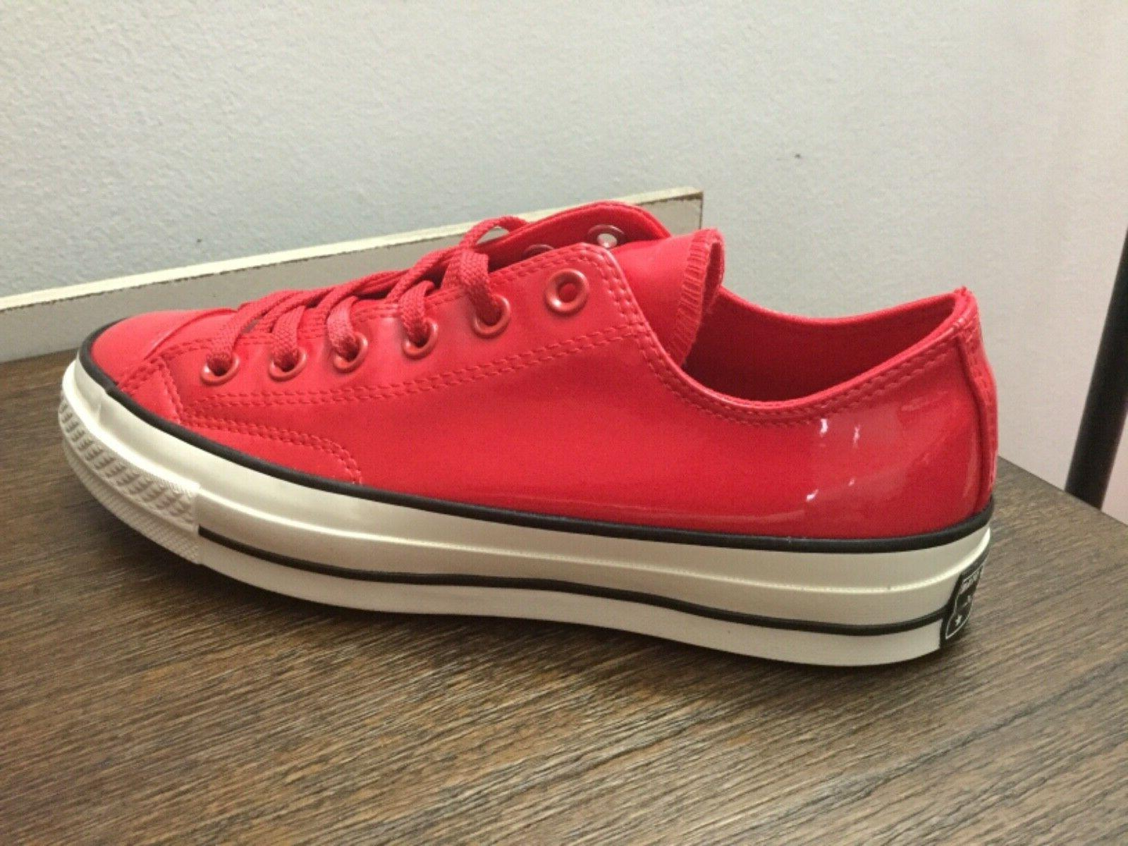 Converse Star OX Leather Cherry Red 6-8.5