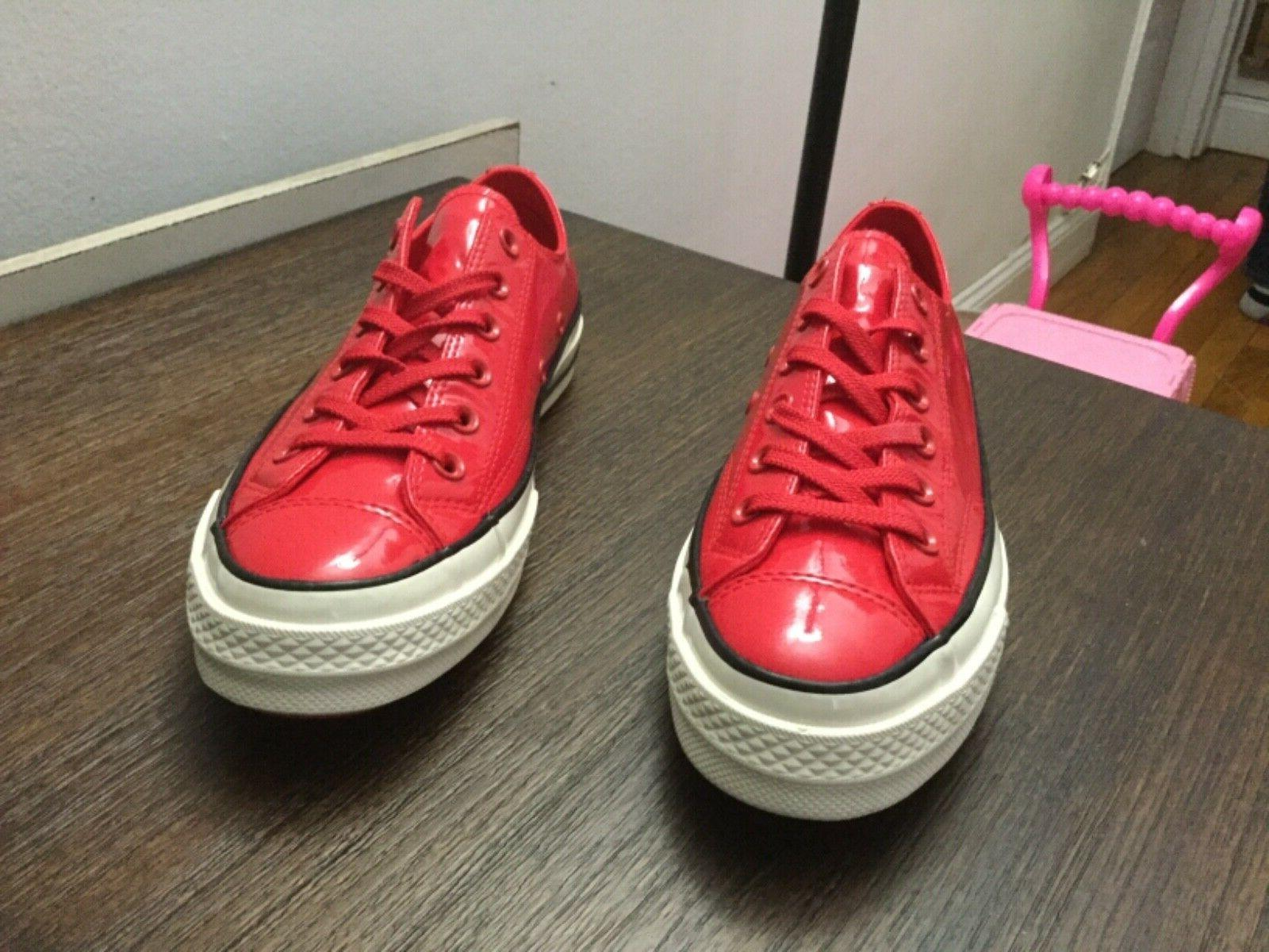 Converse Taylor All Star Leather Cherry Red 6-8.5