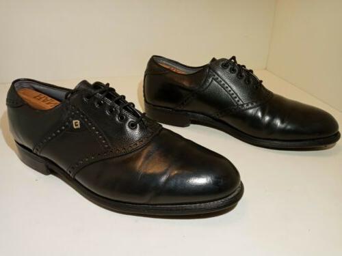 classics dry golf shoes black leather men