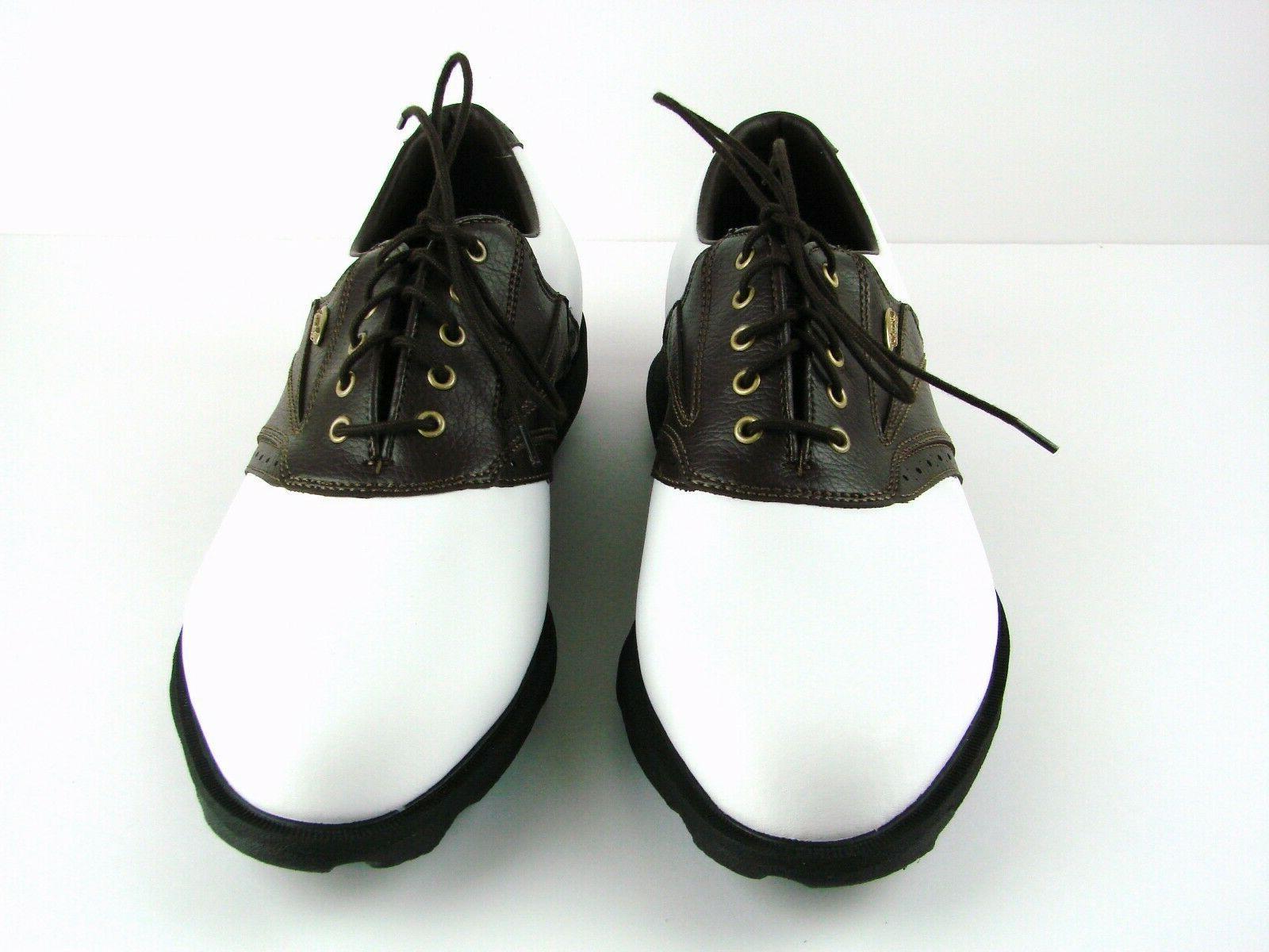 Etonic Comfort Shoes Mens Sz Brown Saddle Waterproof