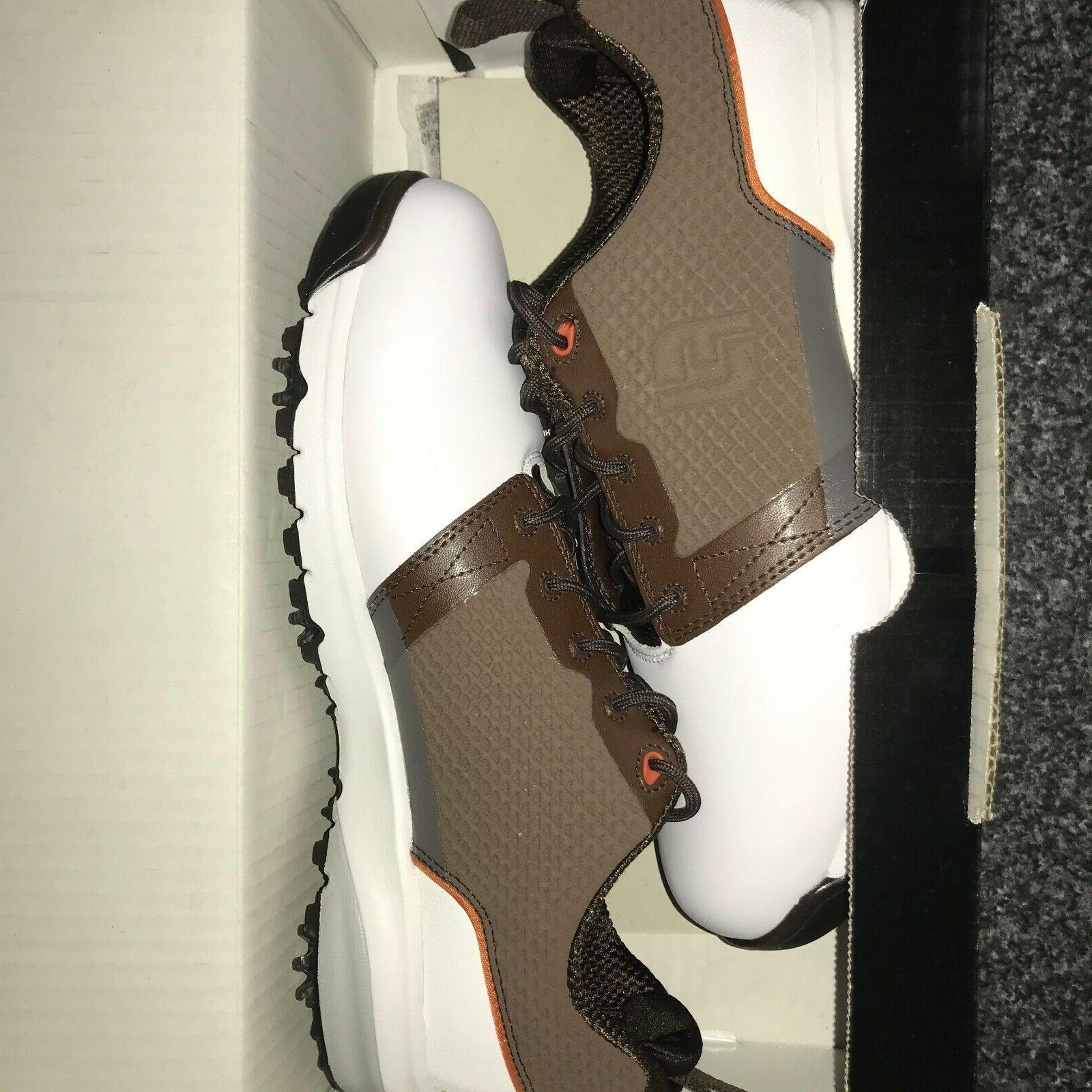 FootJoy Golf New White/Brown 8, 10.5, 11,