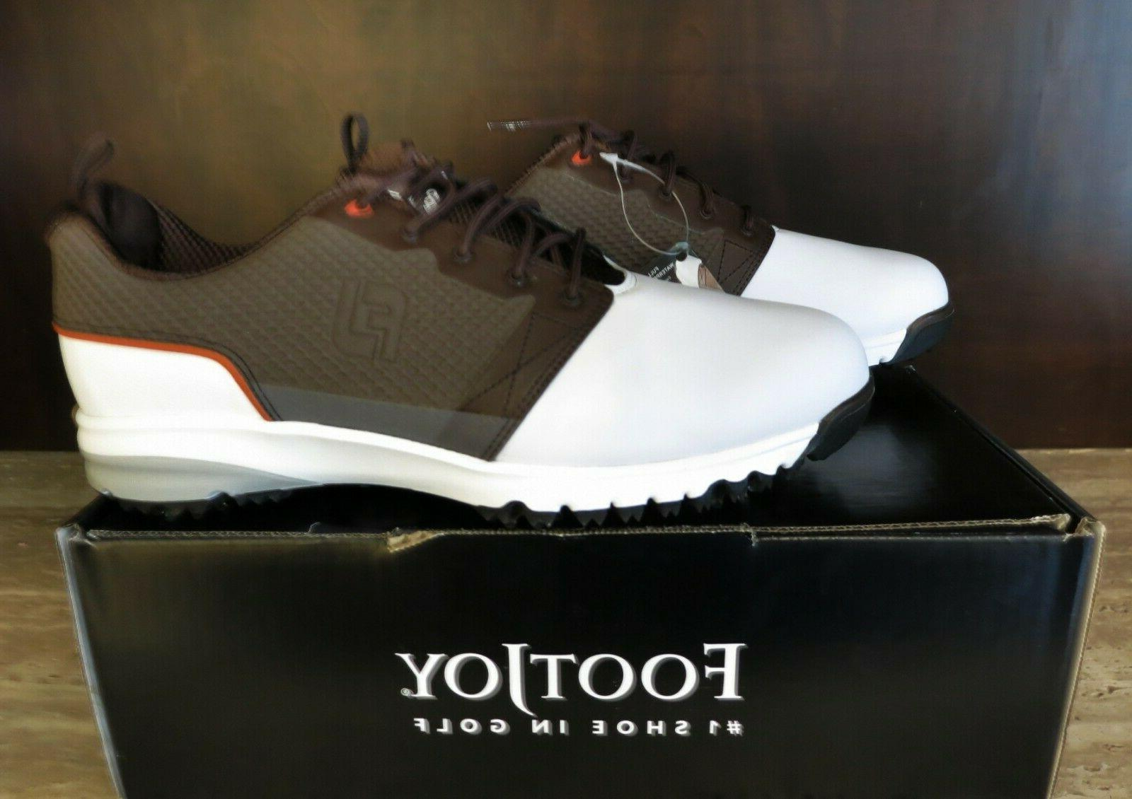 contour fit men s golf shoes size