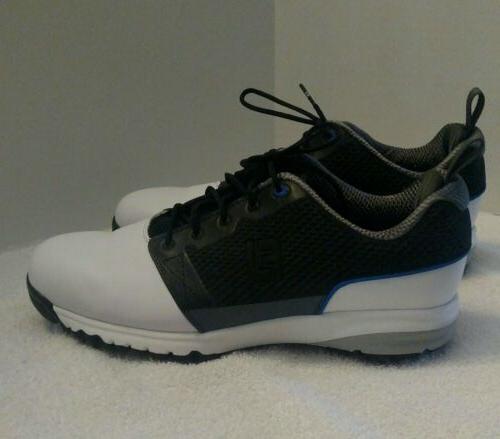 FootJoy Contour fit white black 10.5m golf