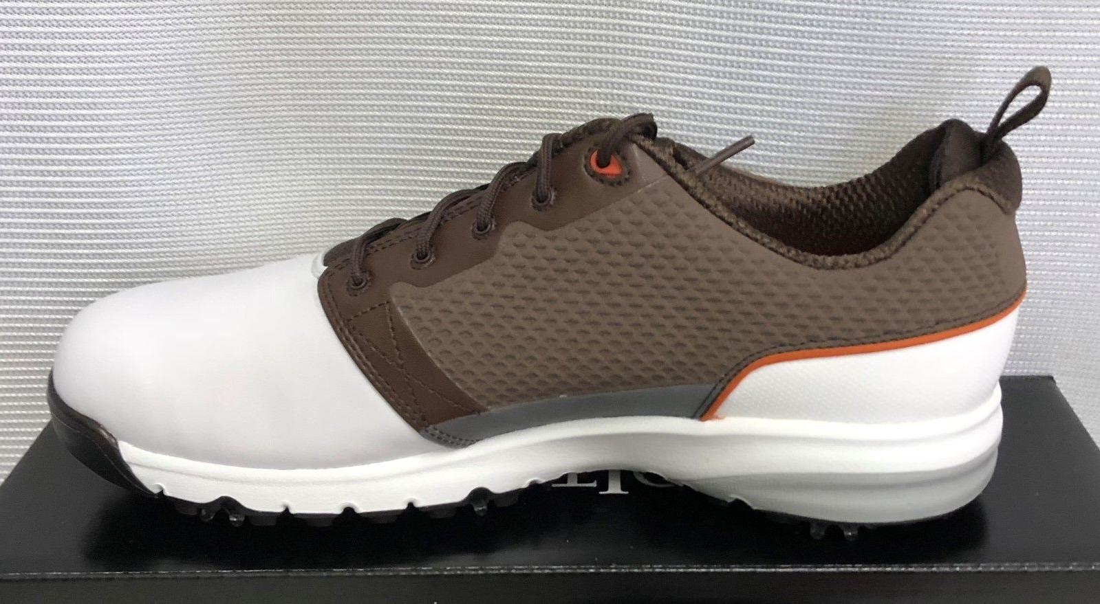 FootJoy Mens Shoes - White Brown - - in Box